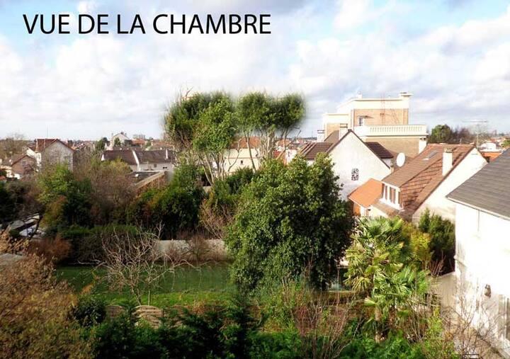 T2 Charmant à proximité de Paris et de  l'Aéroport