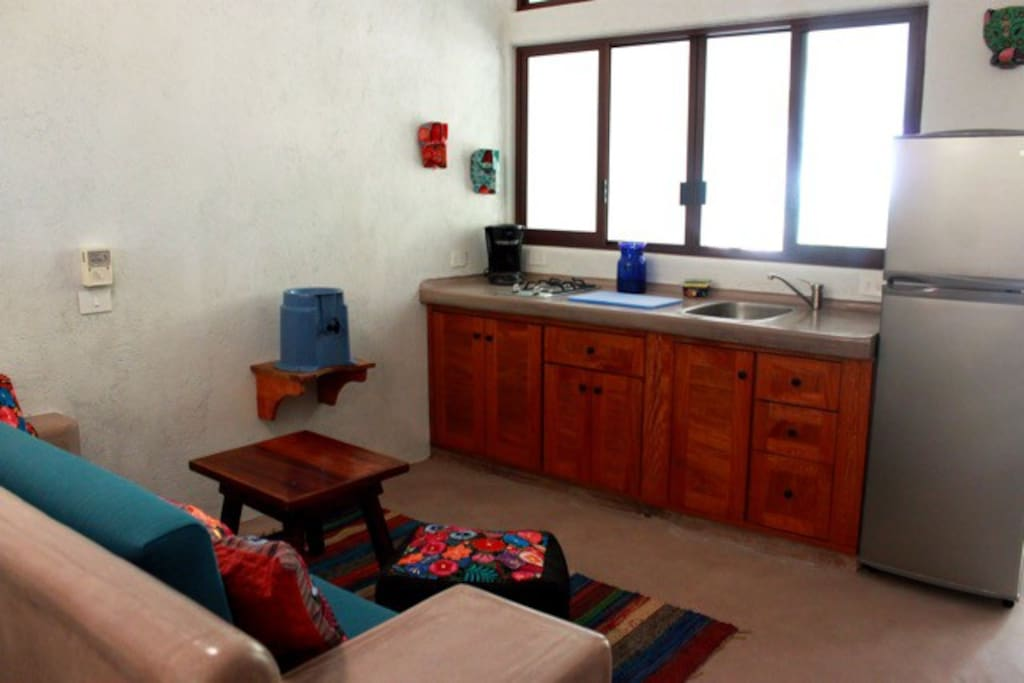Kitchenette and Wet Bar Area