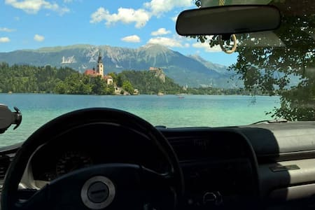 Subaru Camper for 2(+2) in Slovenia, Bled or Alps - Camper/RV
