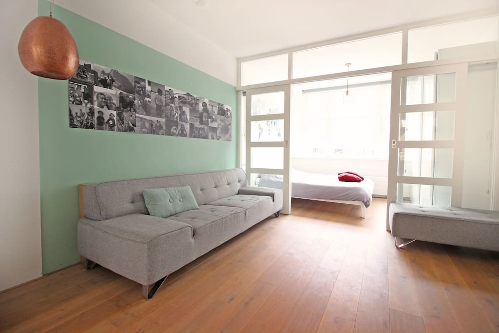 The apartment has a great atmosphere, so you'll feel right at home