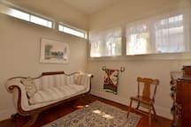 Sitting room off bedroom