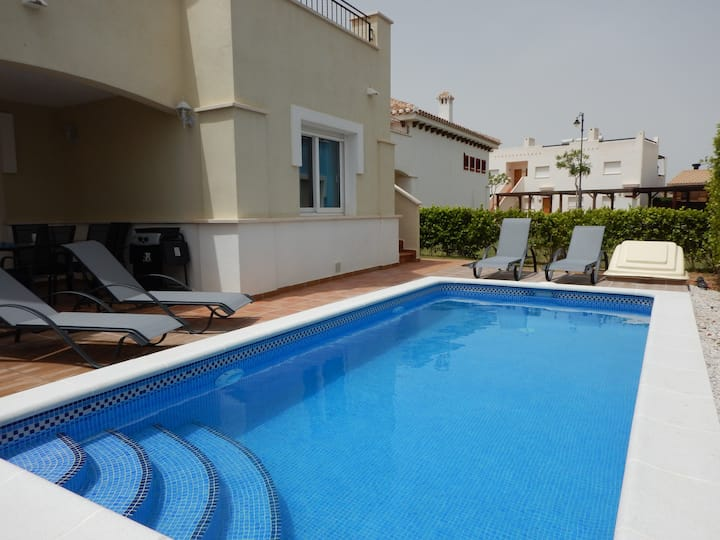 2 Bed Villa with pool at Mar Menor Golf Resort*