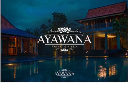 Amazing and Peaceful Ayawana Villa - Ubud - Huvila