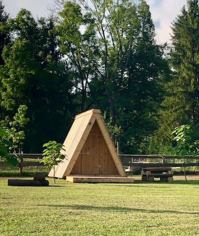 Natura Camp Gea - Wooden Camping Hut 2
