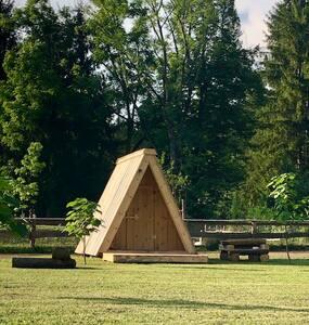 Natura Camp Gea - Wooden Camping Hut 2