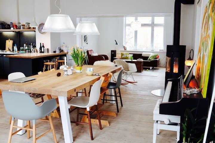 Villa apartment near the city, airport & beach - København - Villa