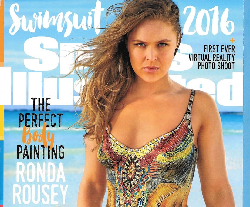 2016 Sports Illustrated Cover photo shoot with Ronda Rousey at the Villa.