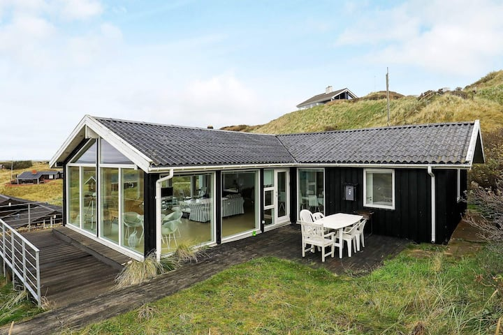Secluded Holiday Home in Løkken with Whirlpool