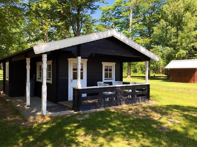 Idyllisk hytte i Thy.  Bo 2 for 400 dkr