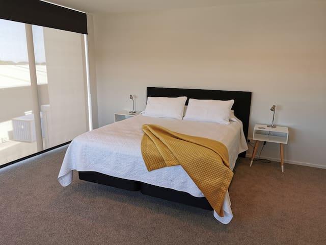 Bedroom 1, King bed. Level 2