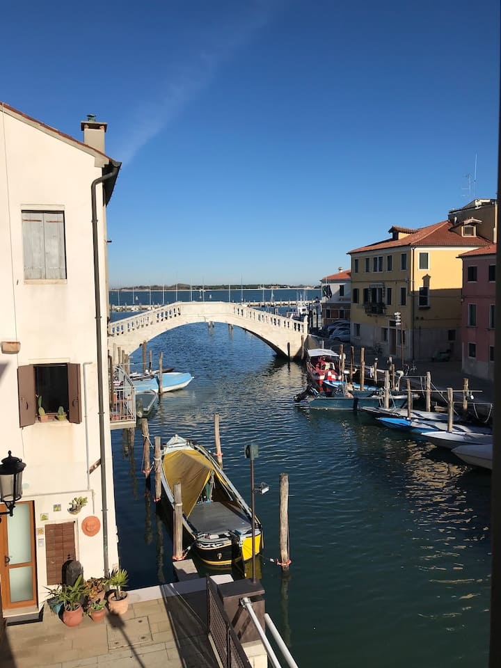 Centralissimo trilocale centro storico di Chioggia