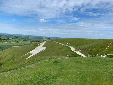 Nr Longleat, Bath,Stonehenge & foot of White Horse
