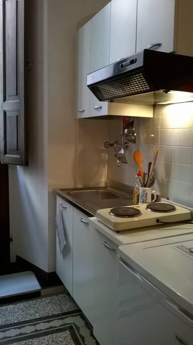 Angolo cottura attrezzato