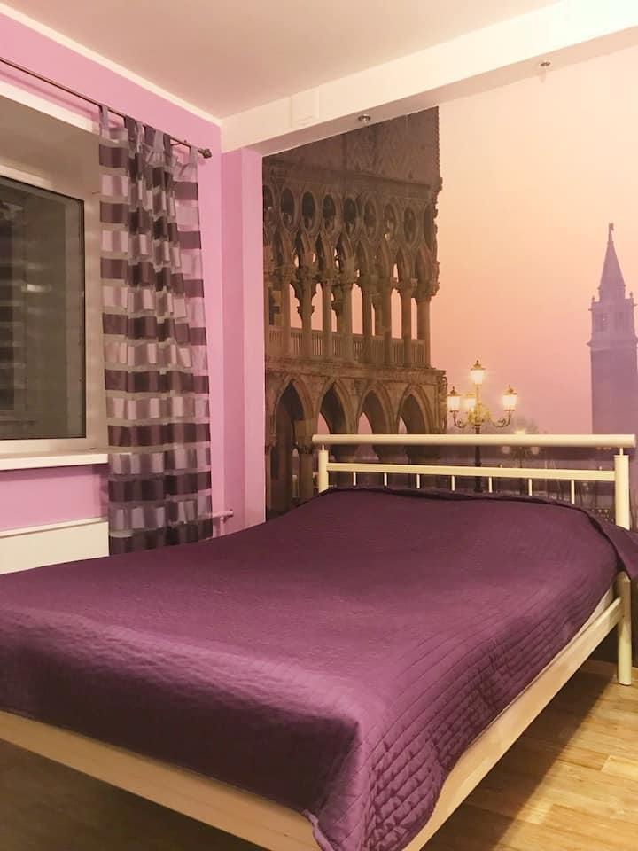 Квартира-студия в центре Тольятти