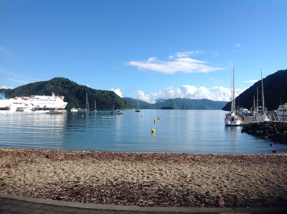 Another day in Picton paradise.