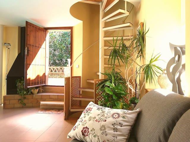 Casa con piscina en Baix Emporda (Girona) - Monells - Ev