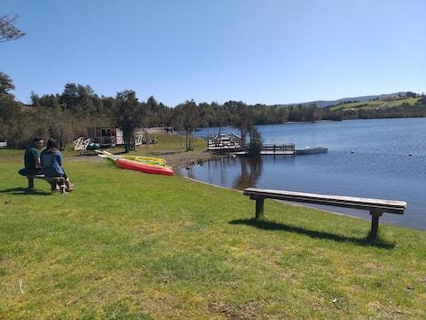 Cabaña en Lago Millán