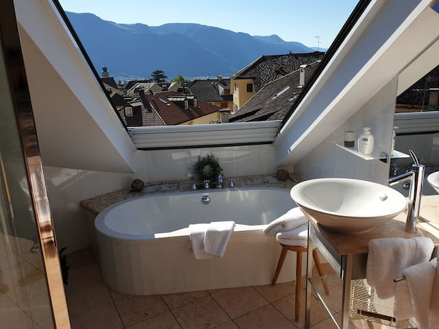 "Apartment ""Blue"" in Lana near Merano / Southtyrol"