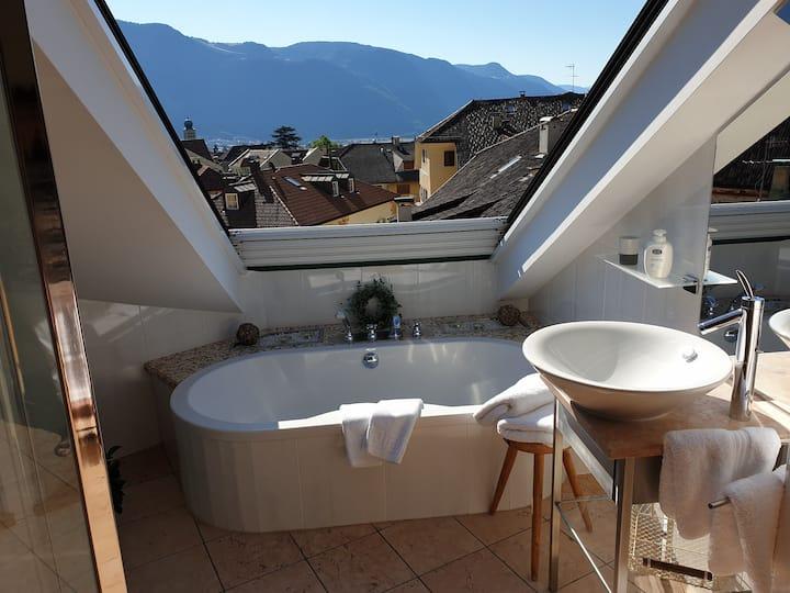 "Apartment ""Blue"" in Lana near Merano / Southtyrol"