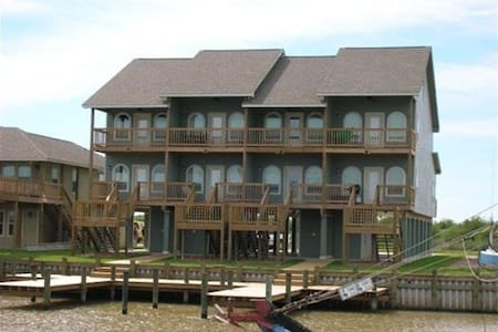 Sportsmans PARADISE! On the water! - Matagorda - Casa
