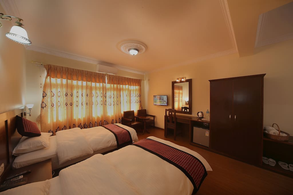 Twin Bed Room with Private Bath