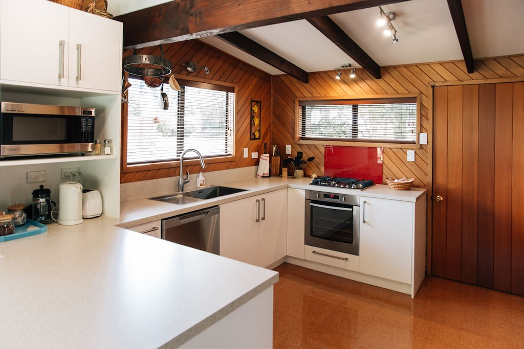 Recently fitted out kitchen with all new appliances.