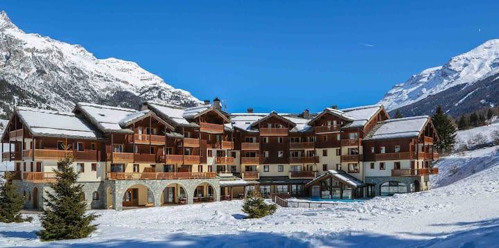Résidences  de luxe Les Alpages Val Cenis - 4 pers