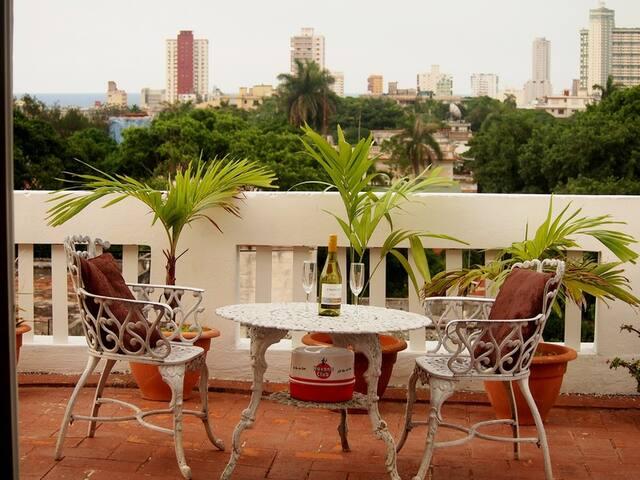 ''Bella Vista''Pent-house with a view to the sea. - La Habana - Apartament