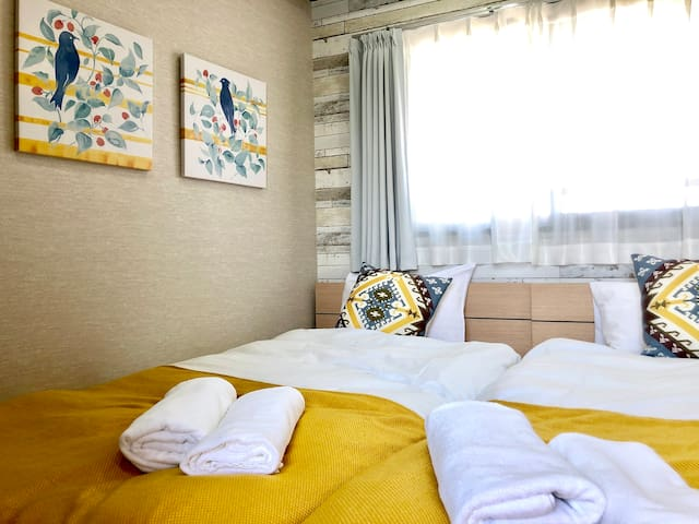 A4【Haneda/Shinagawa】Brand New Studio for 3/WIFI