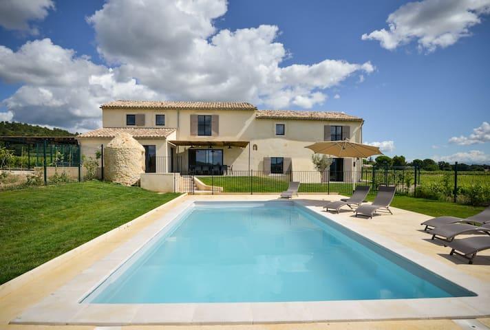 Le Baranier, Piscine privée, jardin clos, Provence - Bagnols-sur-Cèze - House