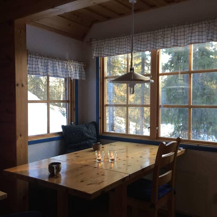 Genuin stugkänsla, Lodge Nammatj i Kvikkjokk