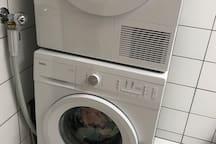 Brand new washing machine and tumble dryer