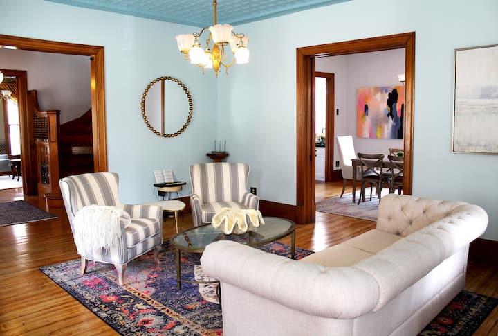 Modern Amenities + Historic Charm: McGregor Manor