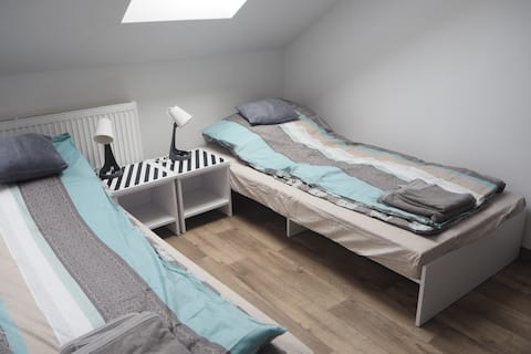 Wygodne pokoje dla rodzin lub pracowników