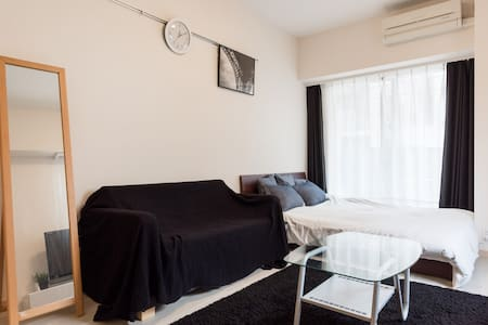 Excellent Location /2min walk frm Sta/Haneda 18min - Minato-ku - アパート