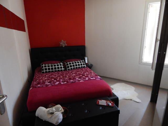 Chambre privée / Lit Double - Montpellier - Lägenhet