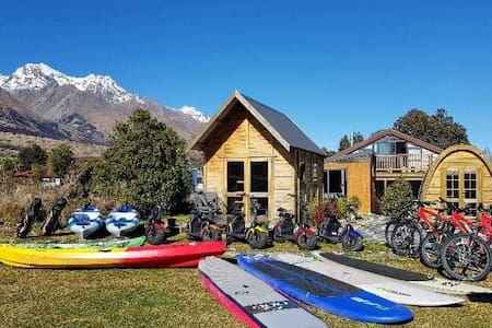 Glenorchy Beehive - adventure equipment included