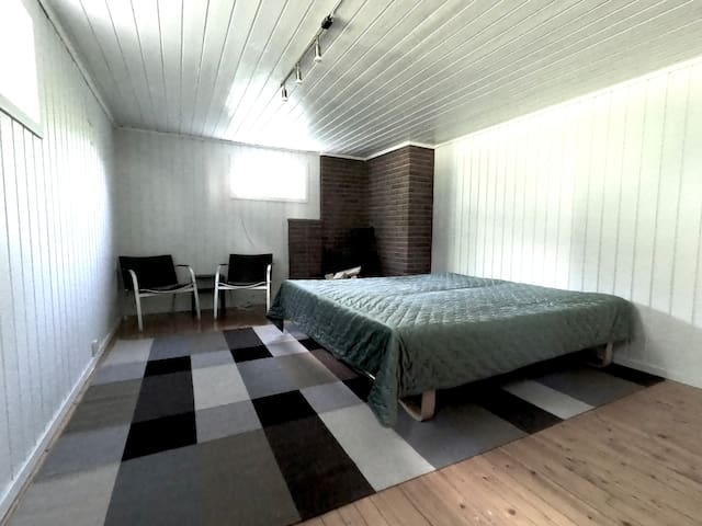 Bedroom number 6; double or twin. Both beds are 90 cm X 200 cm.