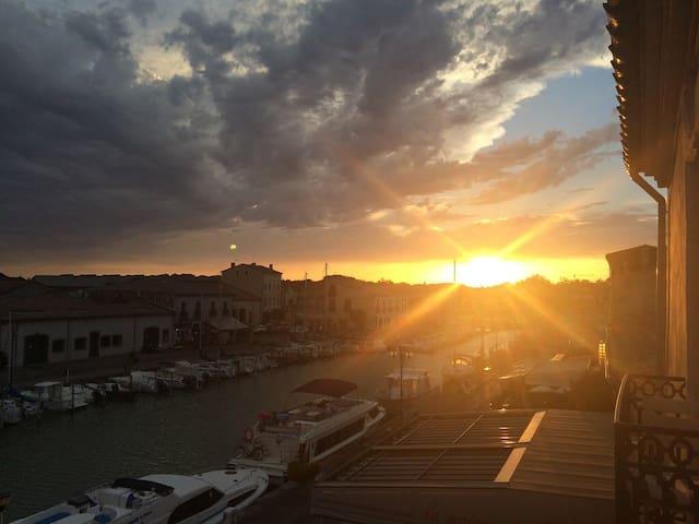 Appartement sur le port - Marseillan - Кондоминиум