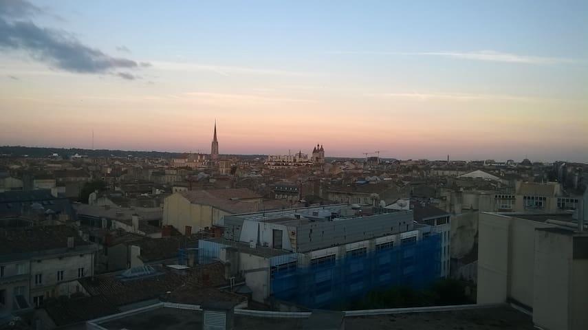 Chambre avec lavabo, 15 min de Bordeaux en tramway - Cenon - Pis