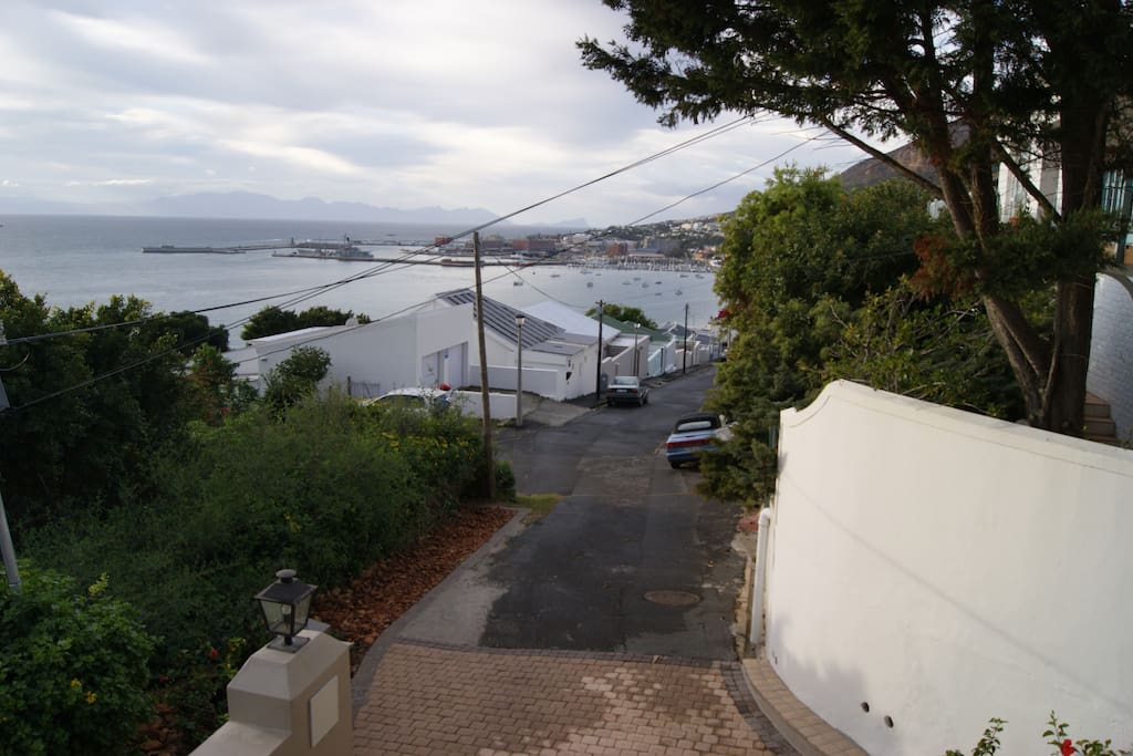 Simonstown yacht basin from Bayview