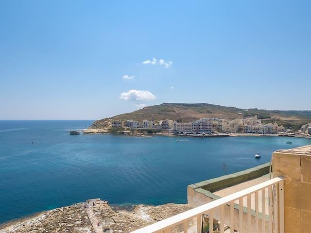 Penthouse, Marsalforn - Iż-Żebbuġ - Appartement