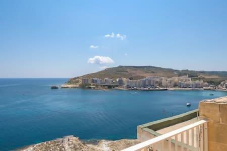 Penthouse, Marsalforn - Iż-Żebbuġ - Lejlighed