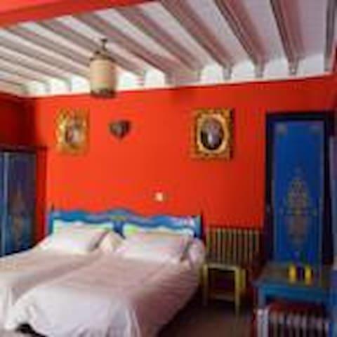 Hotel Sahara Chambre double Vue sur la Ville - Essaouira - Penzion (B&B)