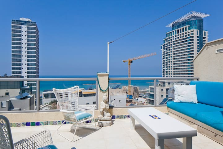 Stunning penthouse on the beach - Tel Aviv-Yafo - Apartment