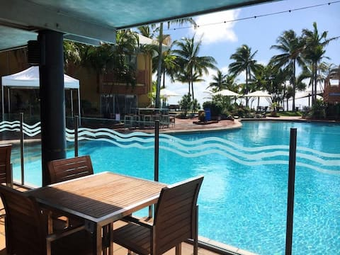 Pool View Unit at Dolphin Heads Resort