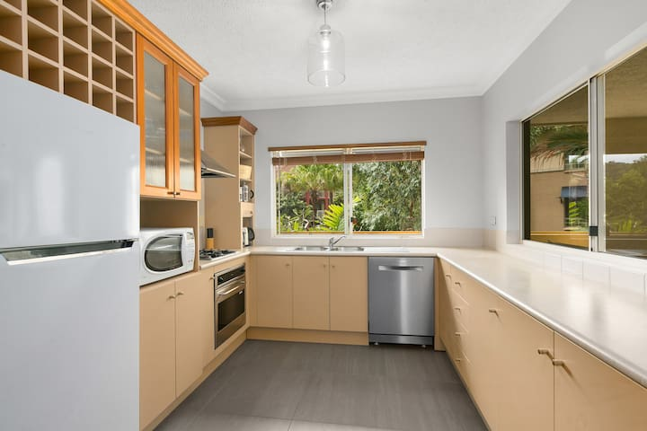 Fully catered kitchen with everything you should need