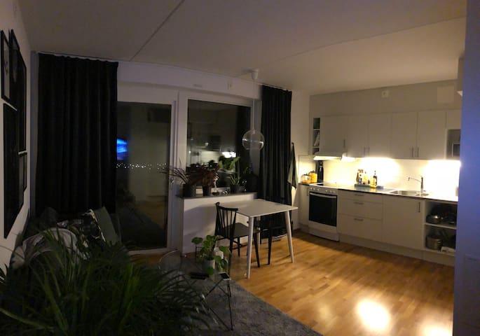 Fräsch nybyggd lägenhet m bra läge