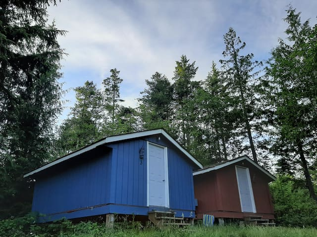 Night Owl cabins in creekside mountaintop heaven.
