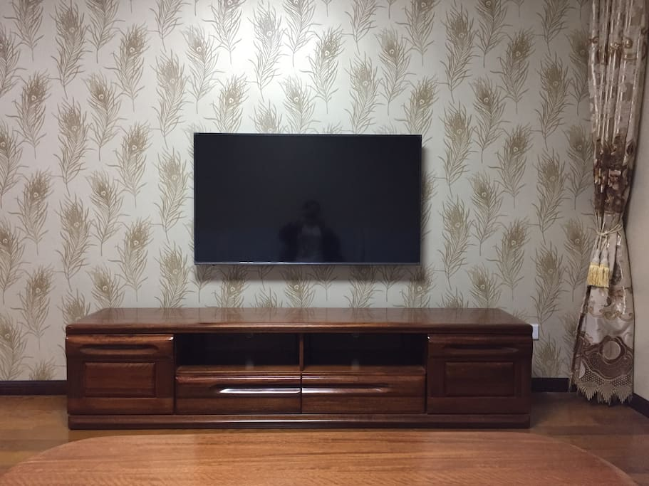 55寸电视,有网络,电视信号